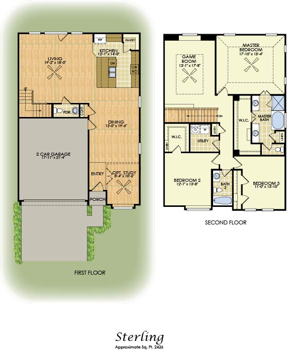 Sterling 2 Story House Plans